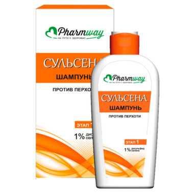 купить Шампунь против перхоти дисульфид селена 1% pharmway сульсена витэкс отзывы